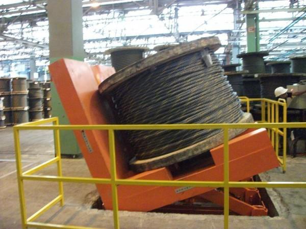 Entornador de tambor hidraulico