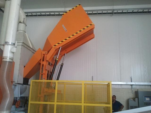 Inclinador hidraulico