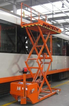 Manutenção de plataforma elevatória