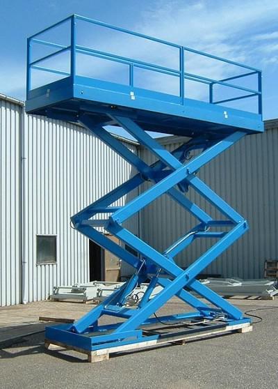 Plataforma de elevação hidraulica
